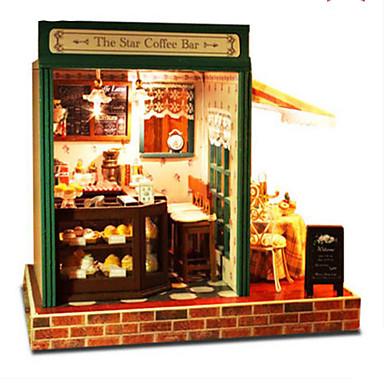 CUTE ROOM Modellbausätze Spielzeuge Heimwerken Berühmte Gebäude Haus Architektur Holz Klassisch Stücke Unisex Geschenk