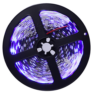 5m Flexible LED Light Strips 300 LEDs 5050 SMD Warm White / White / Blue Cuttable / Self-adhesive 12 V 1pc