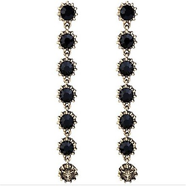 Damen Tropfen-Ohrringe Strass Personalisiert Sexy Liebe Modisch überdimensional Aleación Linienform Schmuck Für Party Sonstiges Formal