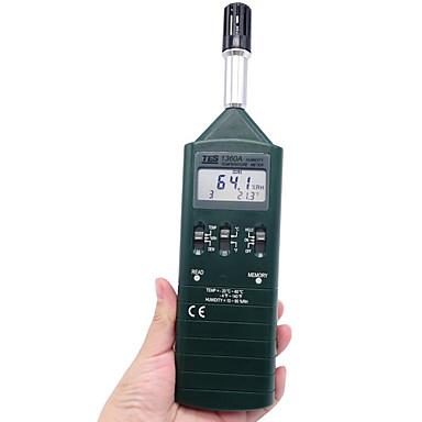 tes tes-1360a vihreänä lämpömittari
