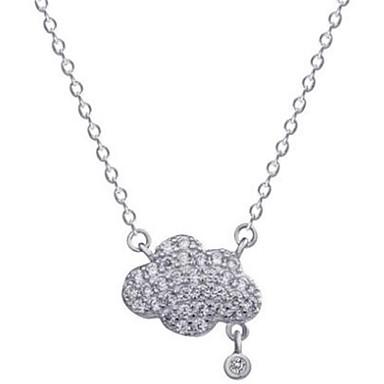 Damen Anhängerketten Imitation Diamant Aleación Modisch individualisiert Simple Style Schmuck Für Party Geburtstag Alltag Normal