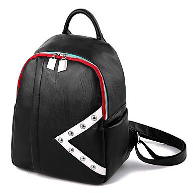 Damen Taschen PU Rucksack für Veranstaltung / Fest Normal Formal Reisen Büro & Karriere Draussen Gewerbliche Verwendungen Ganzjährig