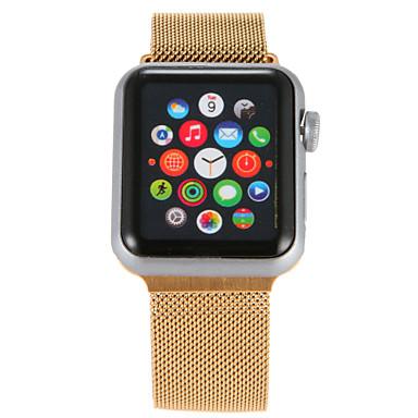 Klokkerem til Apple Watch Series 4/3/2/1 Apple Milanesisk rem Rustfritt stål Håndleddsrem