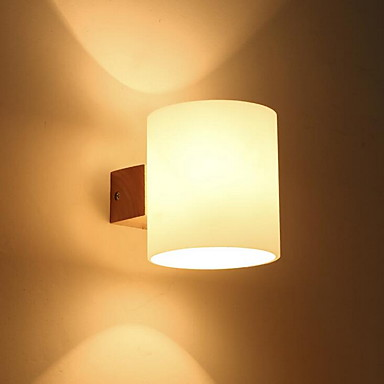 Modern / Contemporary Wall Lamps & Sconces Glass Wall Light 220V 12W