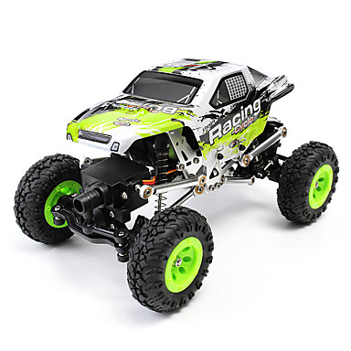 RC Car WL Toys 24438-B 2.4G 4WD High Speed Drift Car Off Road Car Rock Climbing Car Buggy (Off-road) 1:24 Brush Electric 10 KM/H Remote