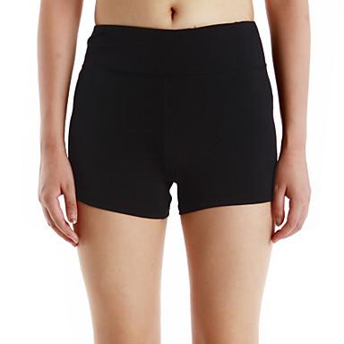 Női Kratke hlače za trčanje - Fekete, Szürke Sport Leggingek Jóga, Fitnessz, Futás Sportruházat Kerékpár, Fitness, futás és jóga Nem