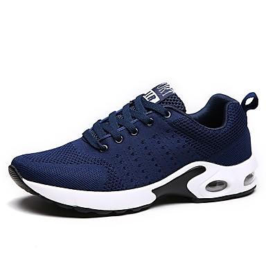 للرجال أحذية شبكة قابلة للتنفس PU جل السيليكا شتاء خريف مريح نعال خفيفة أحذية رياضية الركض دانتيل إلى رياضي الأماكن المفتوحة أسود رمادي