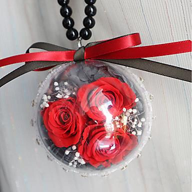 DIY autóipari medálok dekoráció virág ajándék autó medál&Díszek üveg kristály