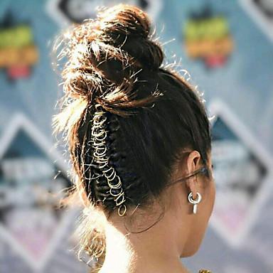 Fém Braiding Gyöngyök Jó minőség Wig Accessories Napi Klasszikus