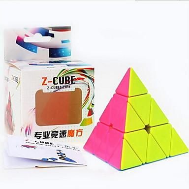 مكعب روبيك Pyramid السلس مكعب سرعة مكعبات سحرية مخفف الضغط لغز مكعب البلاستيك مستطيل مربع هدية