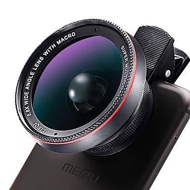 10X Macro 0.6X Wide Angle Camera Lens Lens for Smartphone iPhone / HUAWEI / Xiaomi