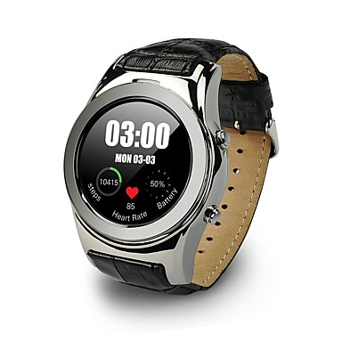 Intelligens Watch YYWL01 for iOS / Android Szívritmus monitorizálás / Elégetett kalória / Hosszú készenléti idő / Kéz nélküli hívások / Érintőképernyő Pulse Tracker / Dugók & Töltők / Lépésszámlál