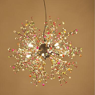 8-Light Mennyezeti lámpa Háttérfény - Az izzó tartozék, 110-120 V / 220-240 V Az izzó tartozék