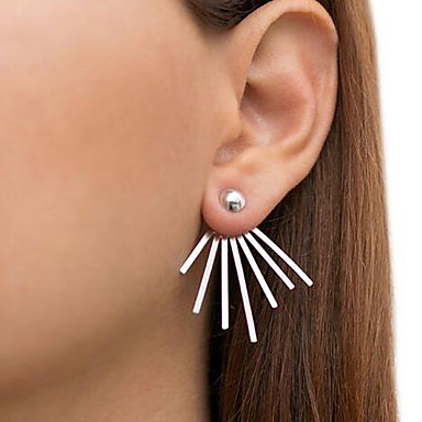 Women's Stud Earrings - Punk, Fashion Gold / Silver For Casual