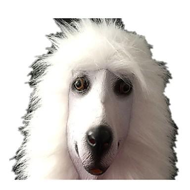 Halloween maszkok / Állatmaszk Kutyák / Étel és ital Latex / Gumi / Ragasztó Darabok Uniszex Felnőttek Ajándék