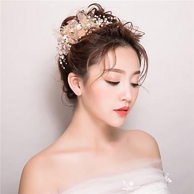 Künstliche Perle Stirnbänder Blumen 1 Hochzeit Besondere Anlässe Geburtstag Party / Abend Normal Kopfschmuck