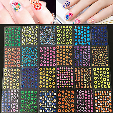 50pcs Other Nail Stamping Template Daily Fashion
