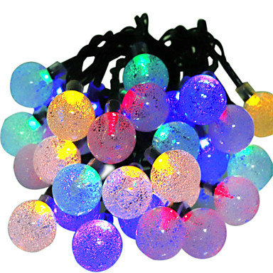 6m String Lights 30 LEDs RGB Waterproof 5 V 1pc / IP65