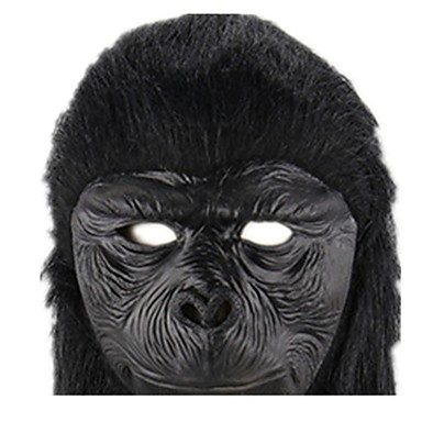 Halloween Mask / Animal Mask Monkey / Horror Rubber / Glue Pieces Unisex Adults' Gift