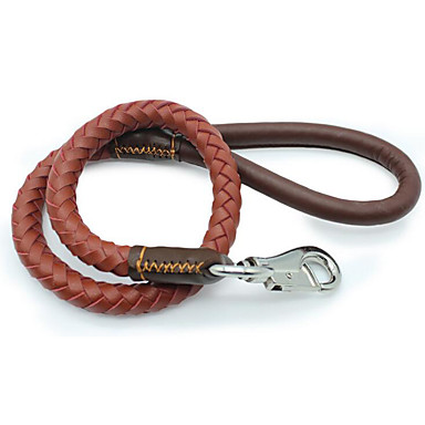 Leash Portable Safety Solid PU Leather