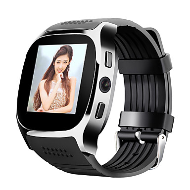 Smartwatch for iOS / Android Hands-Free Calls / Camera / Distance Tracking / Pedometers / Information Timer / Pedometer / Call Reminder / Fitness Tracker / Activity Tracker / 0.3 MP / Sleep Tracker