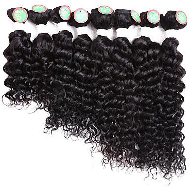 Hajfonás Göndör Göndör fonás / Emberi haj tincsek 100% kanekalon haj / Kanekalon Hair Zsinór Jamaicai hajfonat Napi