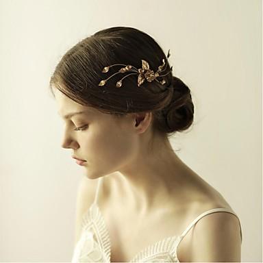 legierung haarkämme kopfschmuck hochzeit elegant weiblichen stil