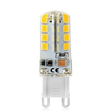 billige Elpærer-3 W LED-lamper med G-sokkel 240-270 lm T 32 LED perler SMD 2835 Dekorativ Varm hvit Hvit 230 V / 1 stk.