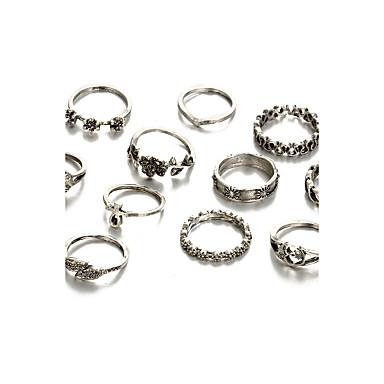 Női Kristály / Szintetikus gyémánt / Strassz Kristály Luxus Ékszer szett - Személyre szabott / Luxus / Alap Circle Shape / Szabálytalan