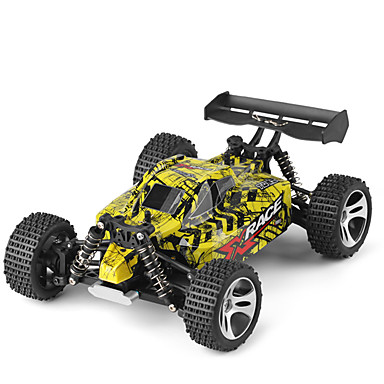 RC Car WLtoys 18401 2.4G Buggy (Off-road) / Off Road Car / Drift Car 1:18 Brush Electric 22 km/h Remote Control / RC / Rechargeable / Electric