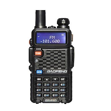 billige Walkie-talkies-BAOFENG Håndholdt Nød Alarm / Programmeringskabel / Programmerbar med datasoftware 5-10 km 5-10 km Walkie Talkie Toveis radio / 136-174 mHz / 400-520MHz / FM Radio / Strømsparefunksjon