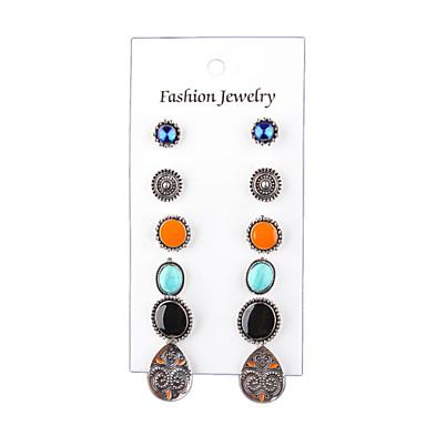 Női Bohém Mások Beszúrós fülbevalók - Vintage / Bohém / Divat Ezüst Fülbevaló Kompatibilitás Esküvő / Parti / Napi