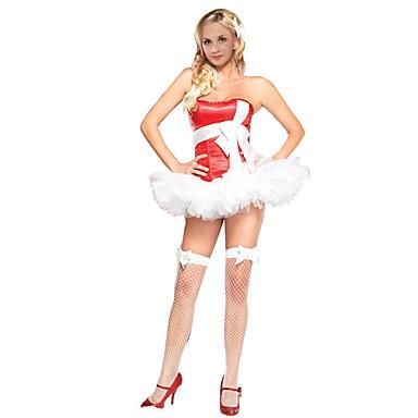 خيالية الكوسبلاي أزياء Cosplay حفلة تنكرية أنثى للبالغين كريسماس عيد الميلاد مهرجان عطلة / عيد كوستيوم هالوين أخرى عتيقة