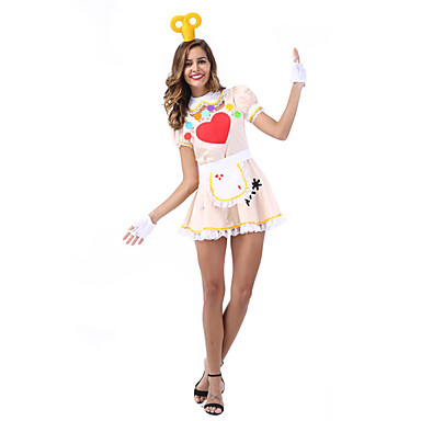 Oktoberfest Servitör   servitris Cosplay Cosplay Kostymer   Dräkter Maskerad  Dam Karnival Oktoberfest Festival   högtid Halloweenkostymer 6137184 2019 –  ... 306d9e0f19425