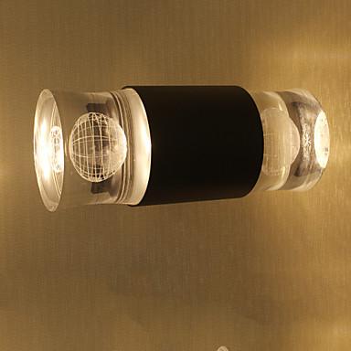 إضاءة الحائط ضوء محيط شمعدانات الجدار 10W 110-120V 220-240V LED متكاملة بسيط LED