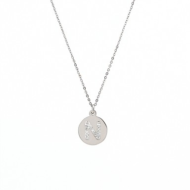 Női Nyaklánc medálok - Rozsdamentes acél Arany, Ezüst / Születésnap / Ajándék / Napi