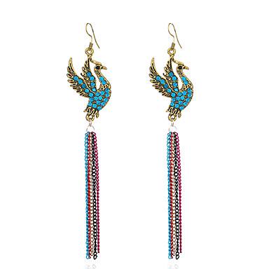 Women's - Tassel, Vintage, Basic Blue / Pink / Light Blue For Gift Evening Party Stage