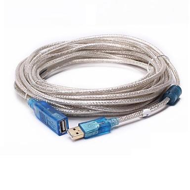 USB 2.0 Verlängerungskabel, USB 2.0 to USB 2.0 Verlängerungskabel Male - Female 15.0m (50Ft)