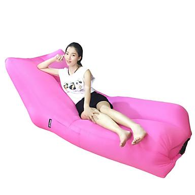 Aufgeblasene Matte Aufblasbares Sofa Stuhl-Schärpe Fitness, Laufen & Yoga Tragbar Komfortabel Polyester Camping & Wandern Strand Draußen