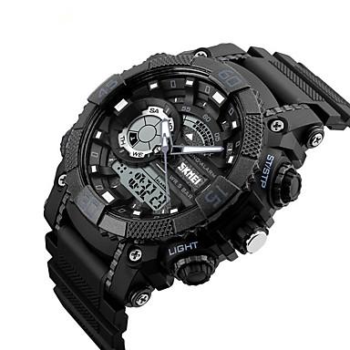 Intelligens Watch Vízálló Hosszú készenléti idő Több funkciós Dugók & Töltők Ébresztőóra Kronográf Naptár Két időzóna Other Nincs