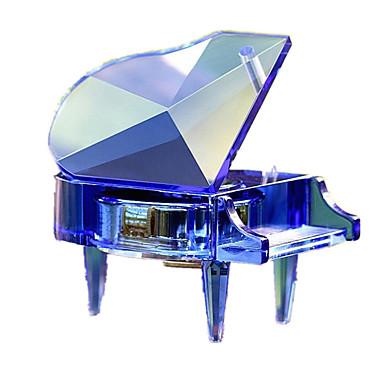 Zenedoboz Zongora Születésnap Esküvő Gyermek Felnőttek Gyerekek Ajándék Kristály Uniszex