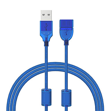 Cwxuan USB 2.0 Extension Cable, USB 2.0 to USB 2.0 Extension Cable Male - Female 1.2m(4Ft) 480 Mbps