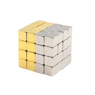 Mágneses játékok Mágneses blokk / Rubik-kocka / 3D építőjátékok 432 pcs 5mm Mágneses / DIY Uniszex Ajándék