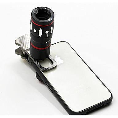 Mobiltelefon Lens Halszem-lencse / Nagylátószögű lencse / Makró objektív Üveg 10X makró Xiaomi / Huawei / Samsung
