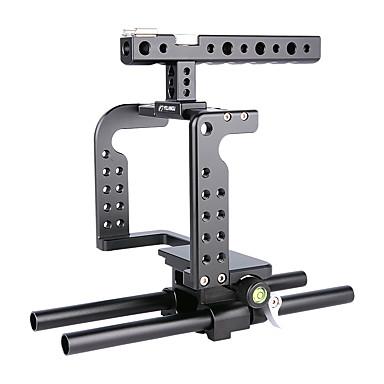 Yelangu professzionális dslr konzol alátámasztó alumínium kamera ketrec c7 hordozható dv tartó gh5