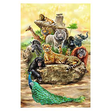 Fejtörő Mások Elefánt Cat Kastély Bika Népszerű épület Fa Uniszex Ajándék