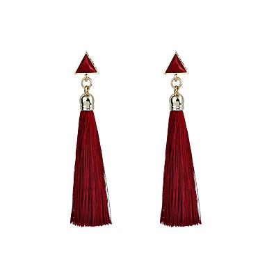 Damen Tropfen-Ohrringe Personalisiert Geometrisch Einzigartiges Design Schmuck mit Aussage Modisch Aleación Dreieck Geometrische Form