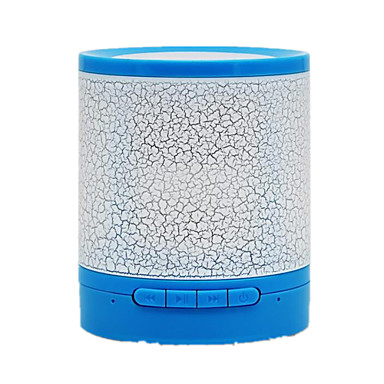 Bluetooth Bærbar Trådløs Bluetooth 3.0 Højtalere Til Boghylder Hvid Gul Blå