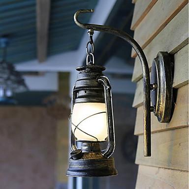 قديم شمعدانات الجدار من أجل زجاج إضاءة الحائط 220V 60W