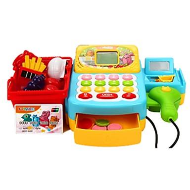 Bevásárlás Pénz és bankolás Szerepjátékok Pénztárgép Játékos pénzkezelés Fejlesztő játék tettetés Műanyagok Lány Gyermek Ajándék